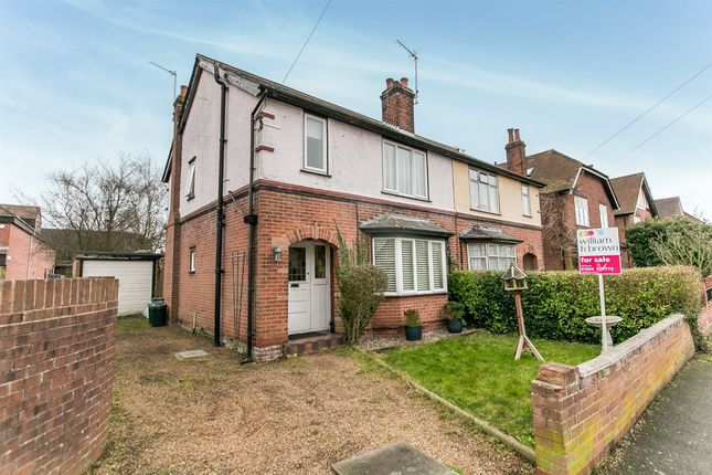 Thumbnail Semi-detached house for sale in Nelson Road, Lexden, Colchester