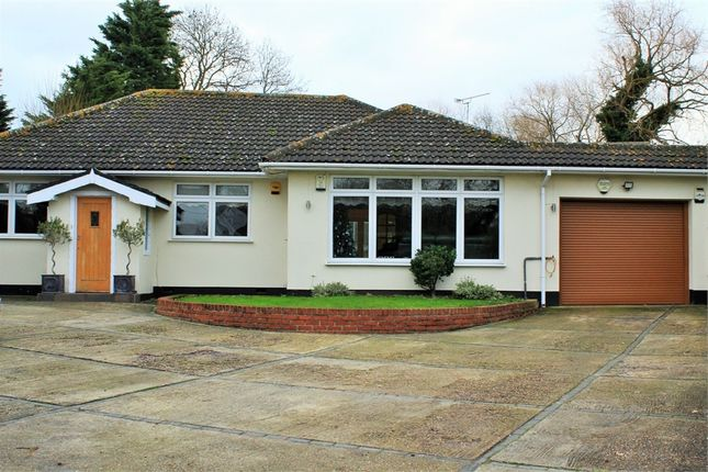 Thumbnail Detached bungalow for sale in Risebridge Chase, Romford, Greater London