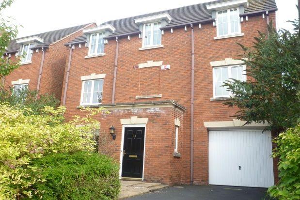 Thumbnail Town house to rent in Holyoke Grove, Whitnash, Leamington Spa