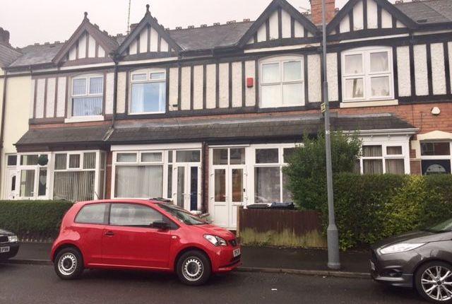 Thumbnail Terraced house to rent in Trafalgar Road, Erdington, Birmingham