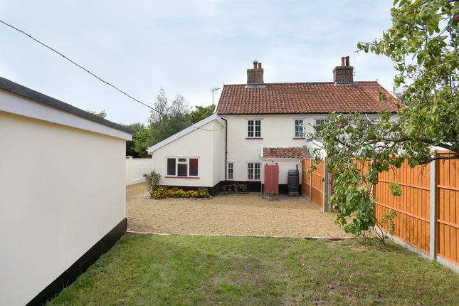 Thumbnail Semi-detached house for sale in Banham Road, Kenninghall, Norwich