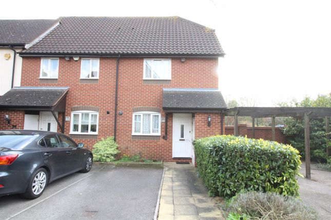 Thumbnail End terrace house for sale in Aynsley Gardens, Church Langley, Harlow