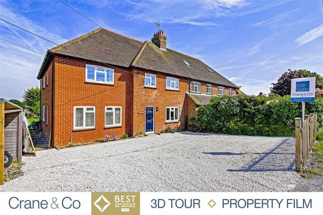Thumbnail Semi-detached house for sale in Station Road, Berwick, Polegate