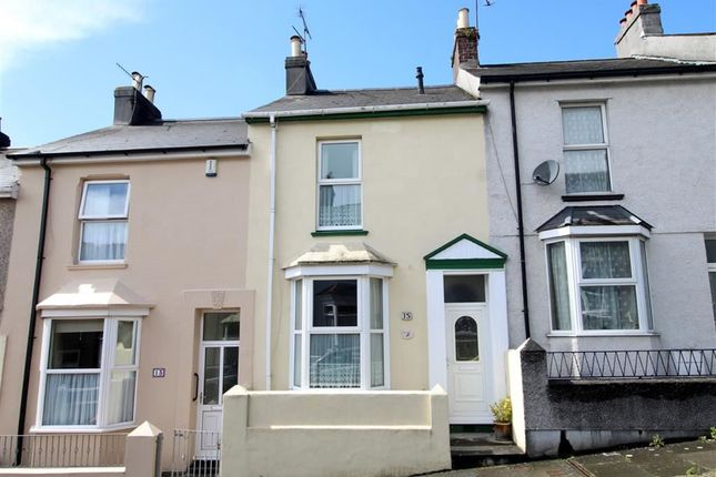 Thumbnail Terraced house for sale in Hanover Road, Laira, Plymouth