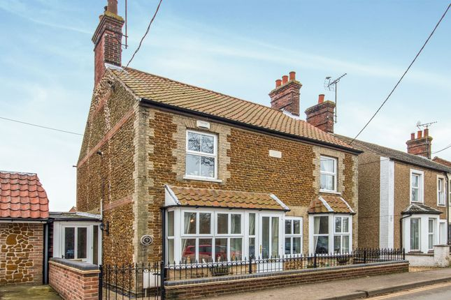 Thumbnail Detached house for sale in Lodge Road, Heacham, King's Lynn