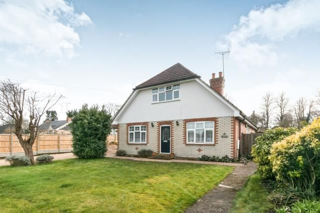 Thumbnail Detached house for sale in Yateley, Hampshire, 50 Potley Hill Road