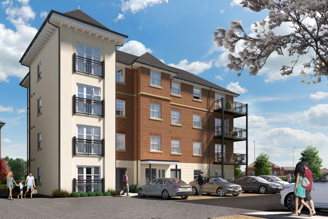 Thumbnail Flat for sale in Hornchurch Square, Farnborough