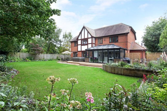 Thumbnail Detached house for sale in Chequers Lane, Eversley, Hook