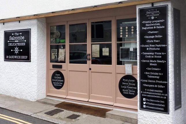 Thumbnail Retail premises to let in Salcombe, Devon