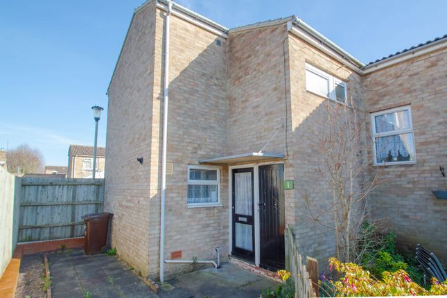 Thumbnail End terrace house for sale in Boxford Court, Haverhill