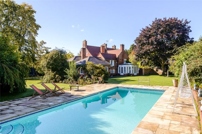 Thumbnail Detached house for sale in Chertsey Road, Chobham, Surrey