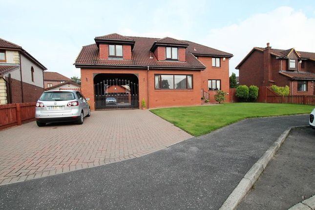 Thumbnail Detached house for sale in Lashley Grove, Overtown, Wishaw