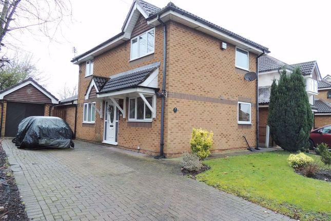 Thumbnail Detached house for sale in Peregrine Crescent, Droylsden, Manchester