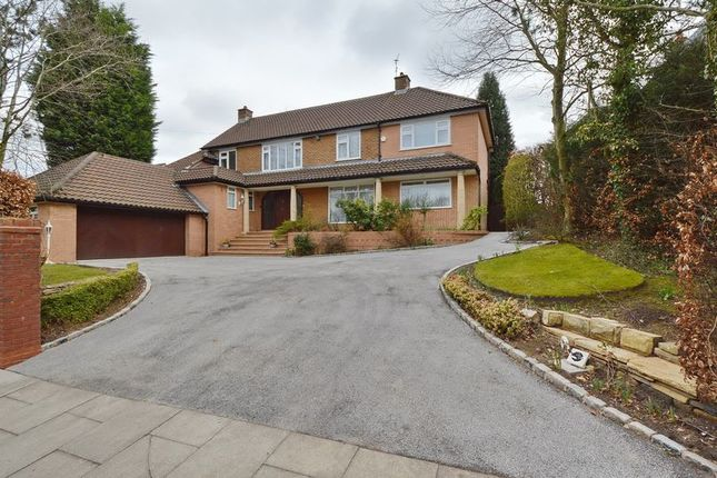 Thumbnail Detached house for sale in Ringley Road, Whitefield, Manchester