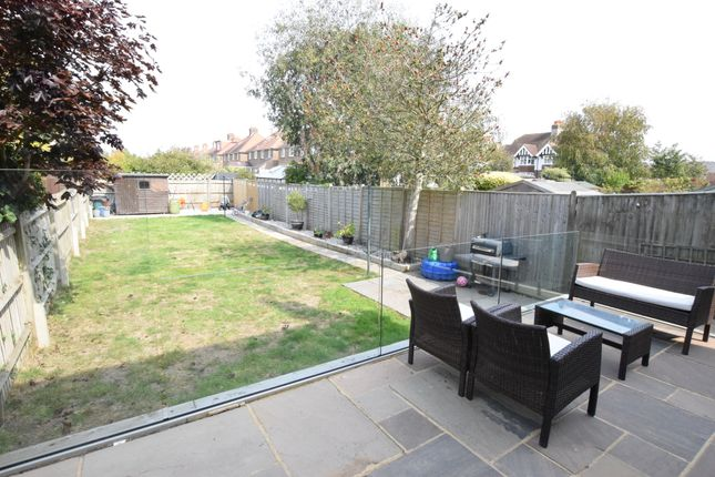 Rear Garden of Ringwood Road, Eastbourne BN22