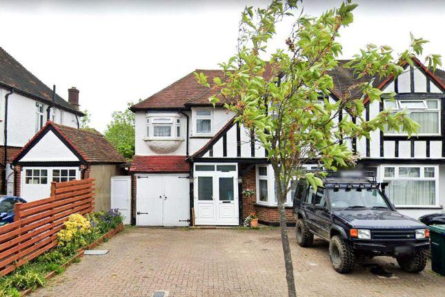 Thumbnail Property to rent in Hillside Gardens, Edgware