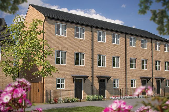 """Thumbnail Town house for sale in """"The Winchcombe"""" at Irthlingborough Road, Wellingborough"""