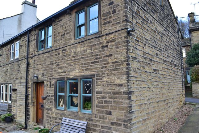 End terrace house in  Upperthong Lane  Upperthong  Holmfirth  Sheffield