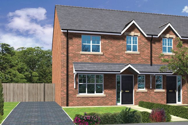 Thumbnail Semi-detached house for sale in King Oswy Drive, Hartlepool