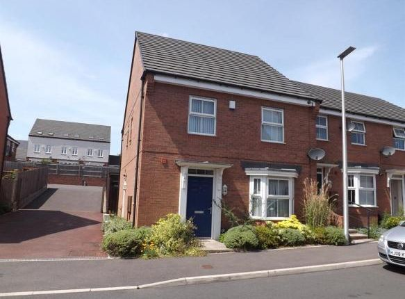 Thumbnail End terrace house for sale in Marnham Road, West Bromwich