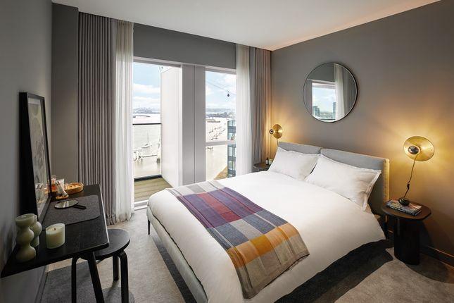 Bedroom of No.5, 2 Cutter Lane, Upper Riverside, Greenwich Peninsula SE10