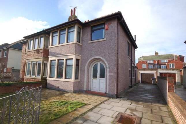 Thumbnail Semi-detached house for sale in Carlyle Avenue, Blackpool