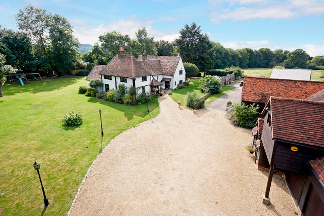 Thumbnail Detached house for sale in Vicarage Lane, Wraysbury, Staines
