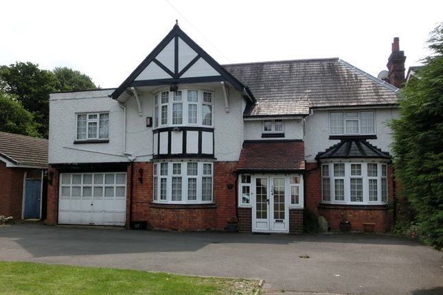 Thumbnail Detached house for sale in Olton Road, Shirley, Solihull