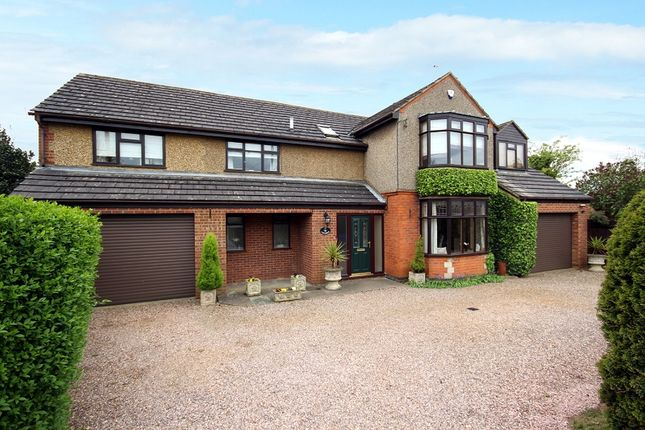 Thumbnail Detached house for sale in Station Road, Cogenhoe, Northampton, Northamptonshire.