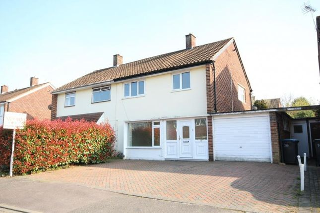 Thumbnail Semi-detached house to rent in Halling Hill, Harlow, Essex