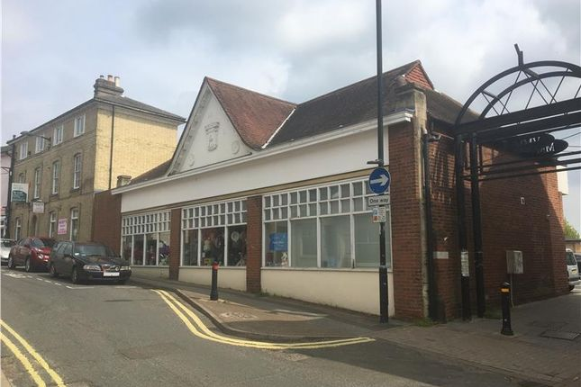 Thumbnail Retail premises to let in Bury Street, Stowmarket, Suffolk