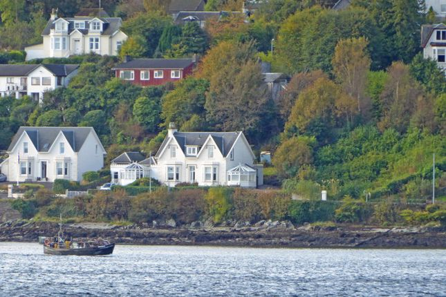Thumbnail Link-detached house for sale in Marine Parade, Hunters Quay, Dunoon, Argyll And Bute