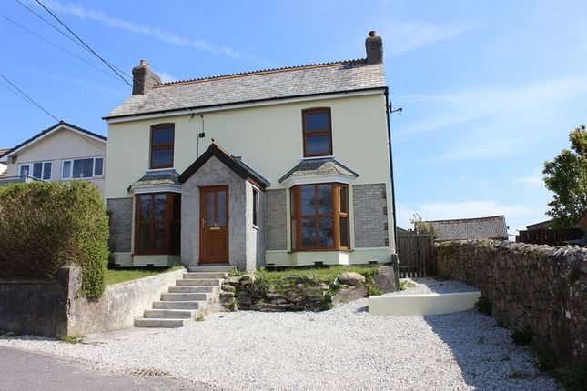 Thumbnail Detached house for sale in Church Road, St. Dennis, St. Austell