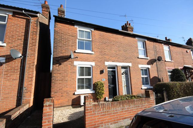 Thumbnail End terrace house for sale in Beche Road, Colchester