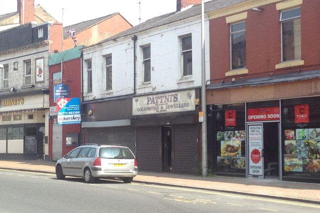 Thumbnail Retail premises to let in 120 Church Street, Preston