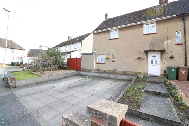 Thumbnail End terrace house for sale in Windmill Close, Wellingborough