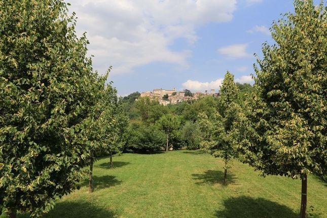 Garden And View of Il Conventaccio, Todi, Umbria
