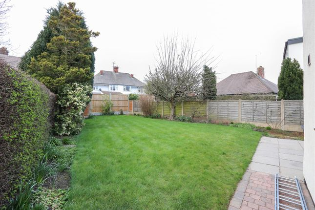 Garden of Orchard View Road, Ashgate, Chesterfield S40