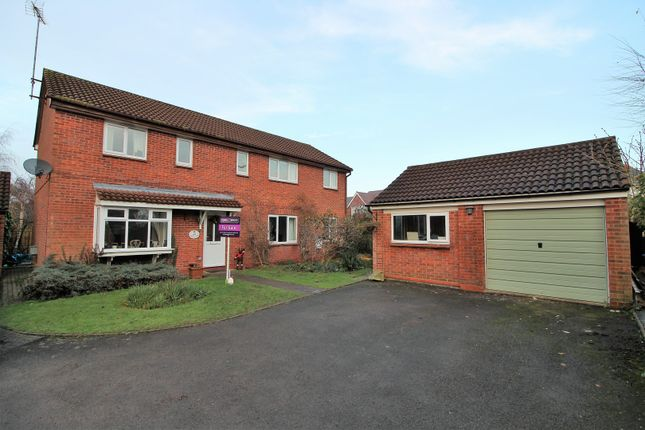 Thumbnail Detached house for sale in Wain Close, Alcester