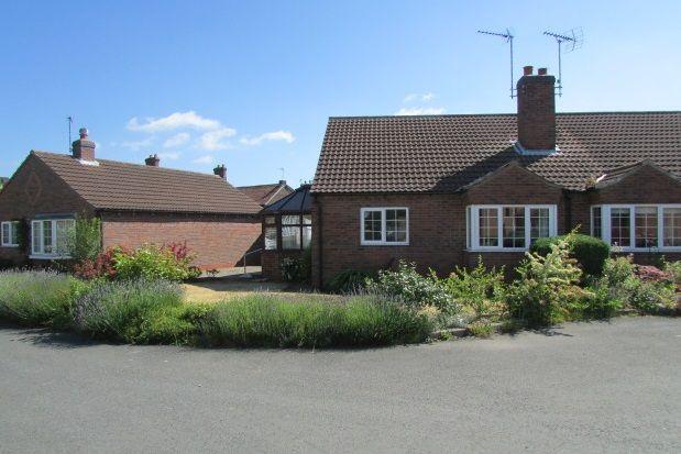 Thumbnail Bungalow to rent in Middlefield Close, Weaverthorpe, Malton