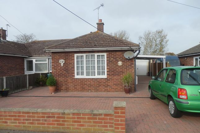 Thumbnail Semi-detached bungalow for sale in Lodge Close, Little Oakley
