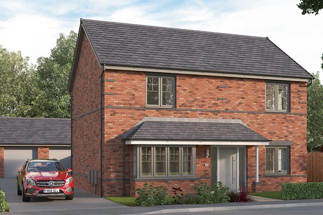 """Thumbnail Detached house for sale in """"The Amersham"""" at Etwall Road, Mickleover, Derby"""
