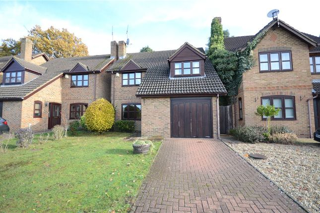Thumbnail Detached house for sale in Cannon Close, College Town, Sandhurst