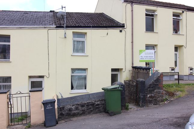 Thumbnail Terraced house to rent in Islwyn Terrace, Tredegar