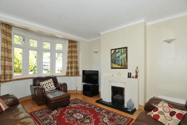 Thumbnail Semi-detached house for sale in Oakwood Crescent, Winchmore Hill, London