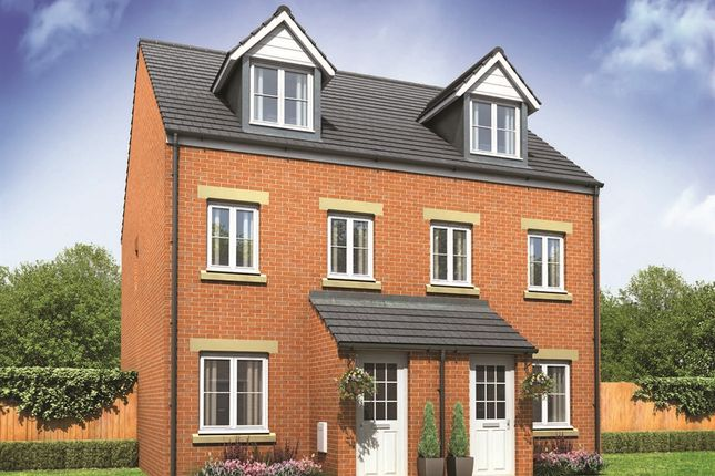 """Thumbnail Town house for sale in """"The Souter"""" at John Street Way, Wombwell, Barnsley"""