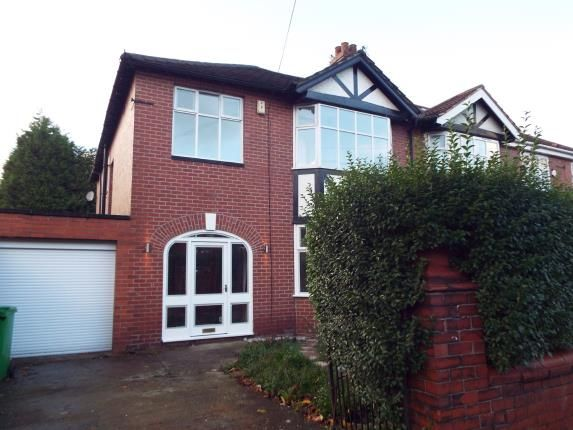 Thumbnail Semi-detached house for sale in Ellesmere Road South, Manchester, Greater Manchester