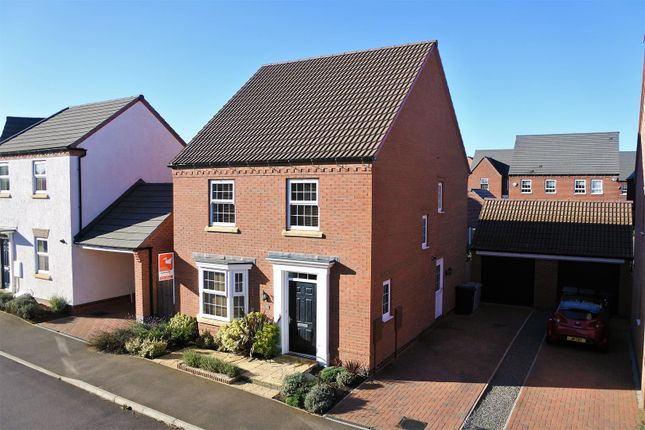 Thumbnail Detached house for sale in Knaresborough Drive, Grantham