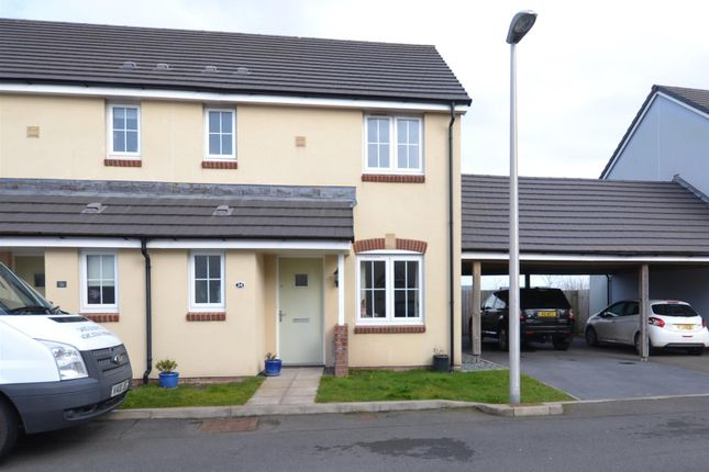 Thumbnail Semi-detached house for sale in Belfrey Close, Hubberston, Milford Haven