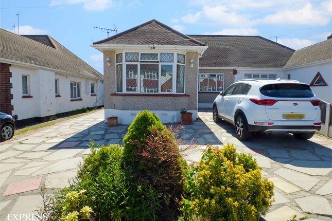 Thumbnail Semi-detached bungalow for sale in Dulverton Avenue, Westcliff-On-Sea, Essex